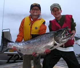 Baranof Wilderness Lodge King Salmon